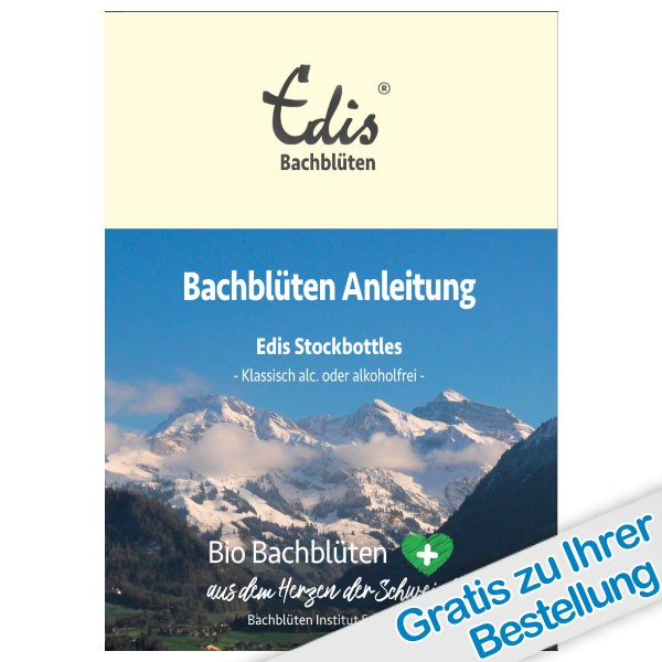 Edis Bio Bachblüten Set klassisch - mit Alkohol