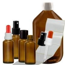 zubeh r zu bachbl ten pipettenflaschen glasflaschen alkohol. Black Bedroom Furniture Sets. Home Design Ideas